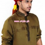 Latest Satrangi By Saqib Menswear Collection 2012 014