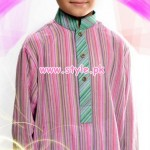Latest Satrangi by Saqib Eid 2012 Kurta Shalwar Designs 001