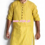 Latest Satrangi by Saqib Eid 2012 Kurta Shalwar Designs 011