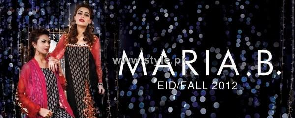 Maria B. Eid-ul-Azha Collection 2012 for Ladies