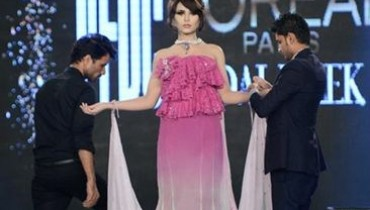 Nabila Style Show Featuring Zaheer Abbas At PFDC L'Oreal Paris Bridal Week 2012 001