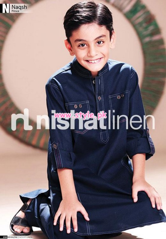 327f176f9 Nishat Linen Kids Wear 2012 Collection For Winter