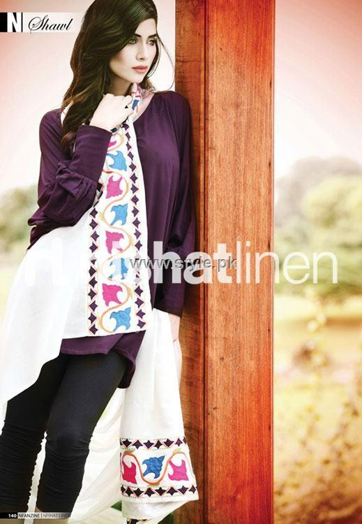 Nishat Linen Shawl Collection 2012 for Women