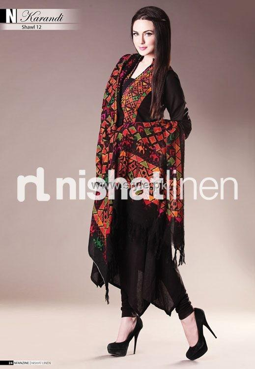 Nishat Linen Winter 2012 Collection for Women 001 pakistani dresses fashion brands