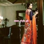 Sana Salman Latest Evening Wear Collection For Women 2012 002