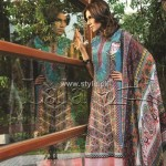 Sana & Samia Embroidered Cotton Collection 2012 by Lala 007