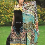 Sana & Samia Embroidered Cotton Collection 2012 by Lala 011