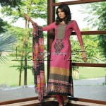 Sana & Samia Embroidered Cotton Collection 2012 by Lala 012