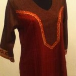Silk N Threads Silk Kurti Collection 2012 2013 For Women 007 150x150 pakistani dresses