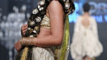 TONI & GUY And Mohsin Ali Designer Collection 2012 At PFDC L'Oreal Paris Bridal Week 2012 001