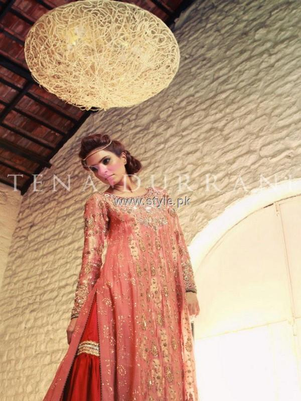 Tena Durrani Bridal Wear Collection 2012 for Women 001 pakistani dresses bridal dresses