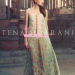 Tena Durrani Latest Eid Collection For Women 2012 002