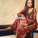 Tena Durrani Latest Eid Collection For Women 2012 004