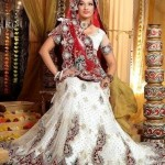 White Bridal Lehenga Trends 2012