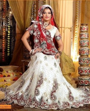 White Bridal Lehenga Trends 2012 001 fashion trends designer dresses