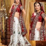 White Bridal Lehenga Trends 2012 0010 150x150 fashion trends designer dresses