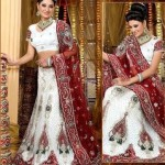 White Bridal Lehenga Trends 2012 0012 150x150 fashion trends designer dresses