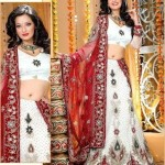 White Bridal Lehenga Trends 2012 002 150x150 fashion trends designer dresses