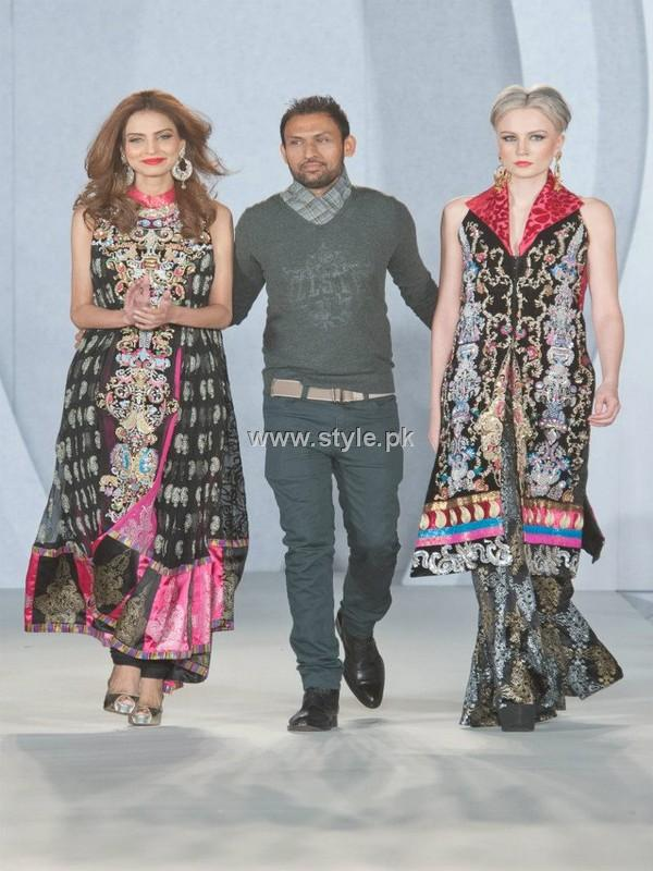 Aamir Baig Collection 2012-13 at PFW 3, London