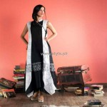 Ashjean Casual Wear Dresses 2012 for Ladies 003