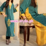 Engrave Latest Casual Wear Dresses 2012 For Winter 002