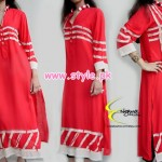 Engrave Latest Casual Wear Dresses 2012 For Winter 003