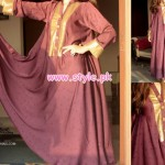 Engrave Latest Casual Wear Dresses 2012 For Winter 004