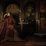 Fahad Hussayn Bridal Wear Collection 2012-13 for Women 007