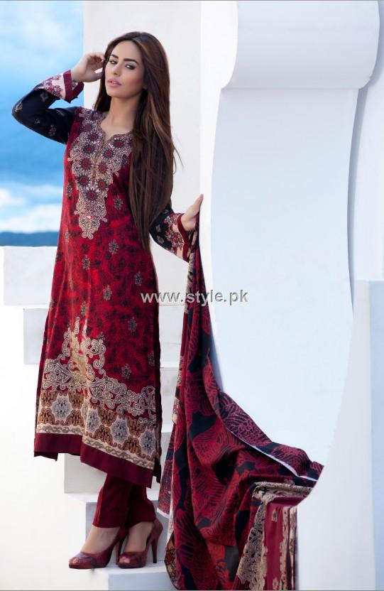 Firdous Paris Linen 2012 New Arrivals for Women