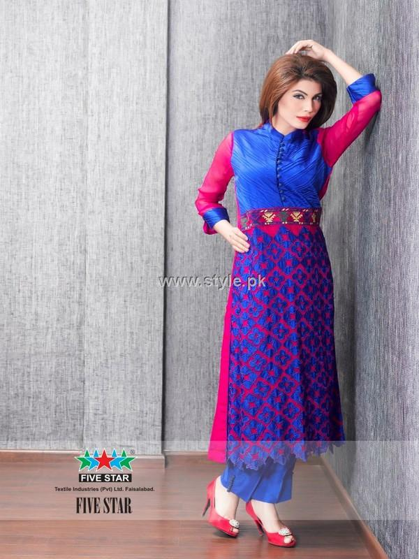Five Star Textiles Winter Collection 2012-13 for Women