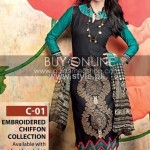 Gul Ahmed Winter Collection 2012-13 for Women 001