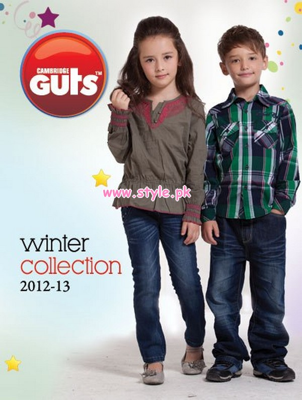 2a5e42a40cd2 Guts By Cambridge Winter Collection 2012 For Kids