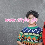 Kids Breakout Latest Winter 2012 Casual Wear Dresses