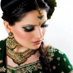 Latest Bridal Mehndi Dresses 2012-2013