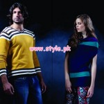 Latest Forecast Winter Casual Dresses For Men & Women 2012 006