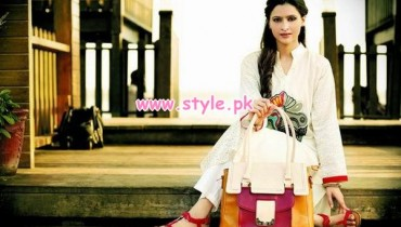 Latest Gul Ahmed Winter Accessories For Women 2012 005