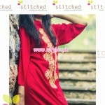 Latest Stitched Casual Dresses 2012 For Winter 005