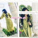 Latest Stitched Casual Dresses 2012 For Winter 006