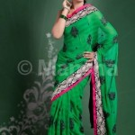 Mansha Saree Collection 2012-2013 For Women 001