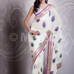 Mansha Saree Collection 2012-2013 For Women 0010
