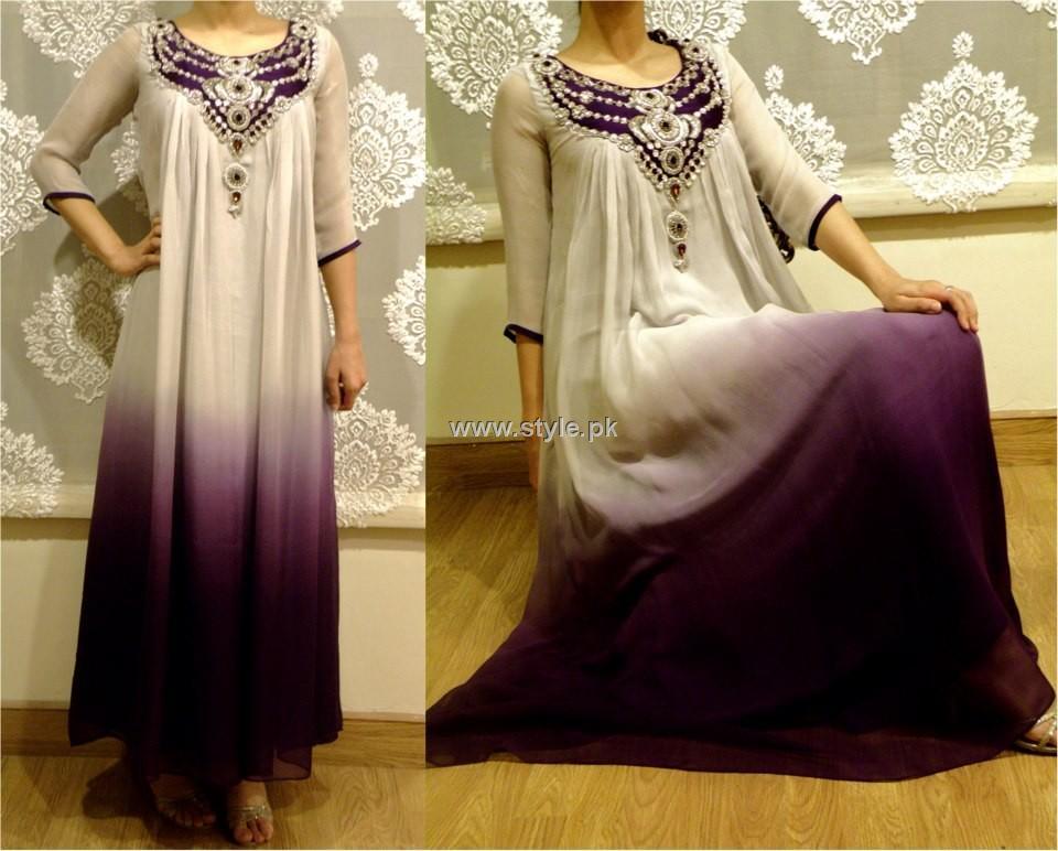 Noor Sahar Winter Party Wear Dresses 2012-13 for Ladies