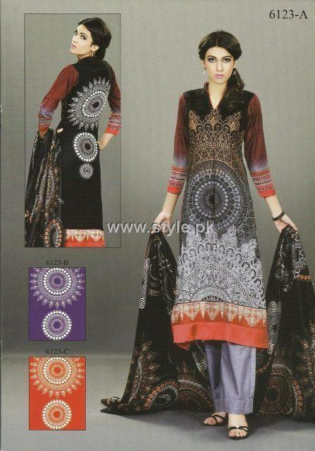Sana and Samia Khaddar Collection 2012 by Lala