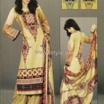 Sana and Samia Khaddar Collection 2012 by Lala 009