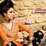 Sanam Chaudhry Latest Party Wear Collection For Women 2012 001 150x150 pakistani dresses