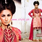 Sanam Chaudhry Latest Party Wear Collection For Women 2012 003