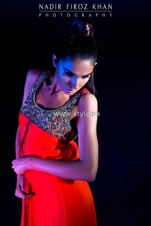 Sonya Battla Party Dresses 2012 for Ladies