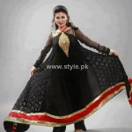 Fashion Of Frocks Designs 2013 For Girls 001
