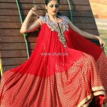 Fashion Of Frocks Designs 2013 For Girls 006