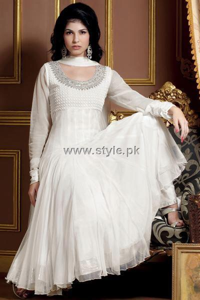 Fashion Of Frocks Designs 2013 For Girls 008