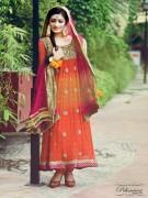 Fashion Of Mehndi Dresses 2013 For Girls